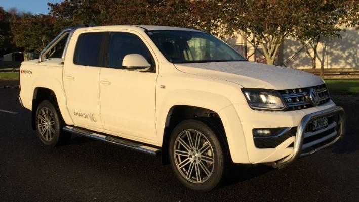 Turbocharged diesel V6 grunt turns Volkswagen's Amarok ute