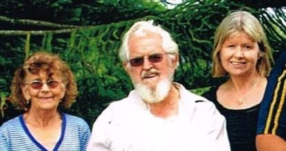 The Warins in happier times: Marian Warin, Trevor Warin, and daughter Colleen Warin. (File photo)