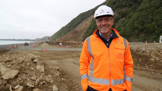 Newly-appointed Civil Defence Minister Nathan Guy made a trip to Kaikoura in his first few weeks on the job to assess ...