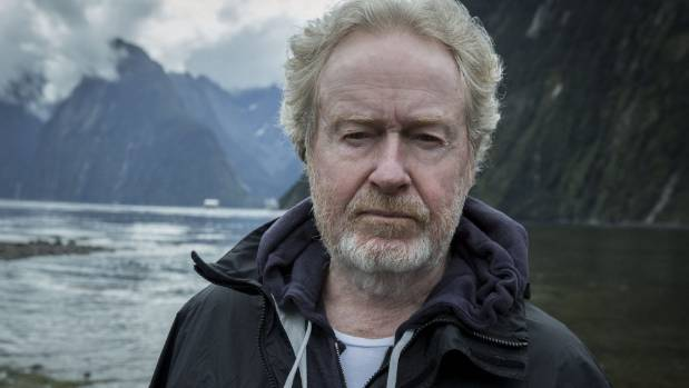 Alien: Covenant director SIr Ridley Scott says he was struck by Milford Sounds' beauty.