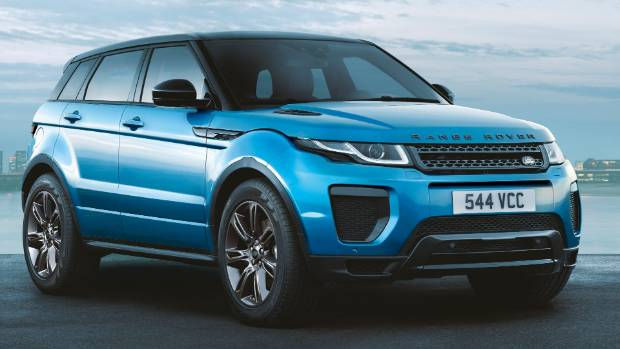 Land Rover launches high-spec £39000 Evoque Landmark edition