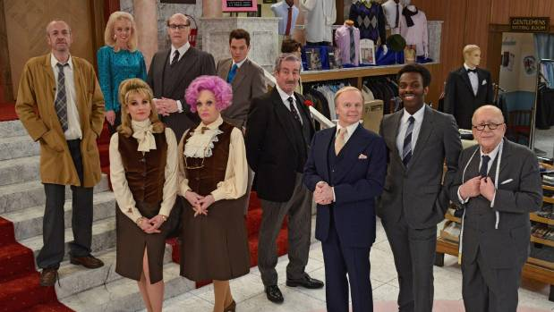 The cast of the Are You Being Served? remake.