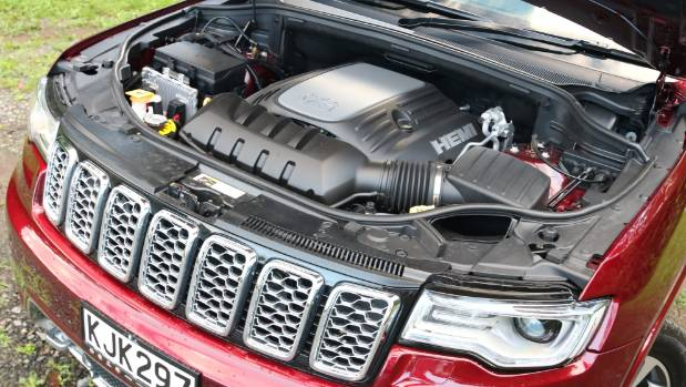 Jeep's Hemi V8 sounds better on paper than it does to the ear.