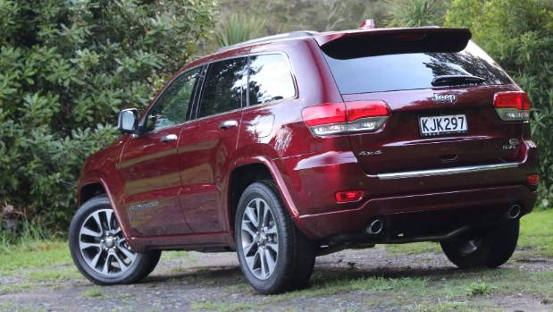 Air suspension and trick 4WD system part of the Overland package.
