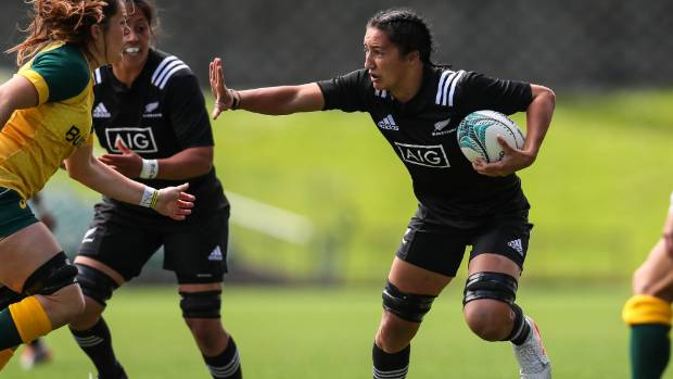 Sarah Goss debuted for the Black Ferns in 2016.
