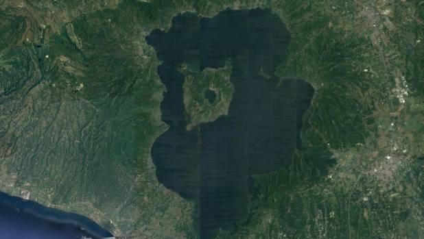 Taal Lake.