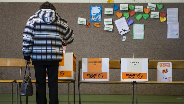 Voter turnout in NZ keeps falling.