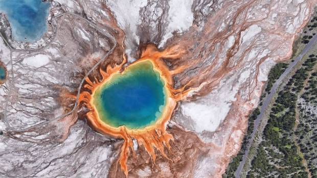 In all its glory: Grand Prismatic Spring.