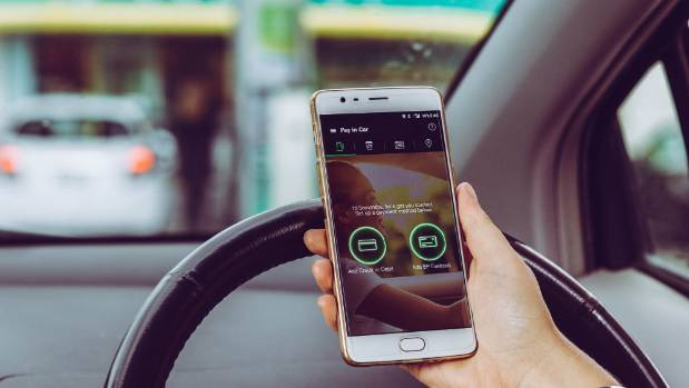 With the BPMe app, filling up when kids are in the car no longer has to be a special mission.