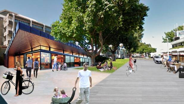 Napier City Council Floats Idea Of Turning Road Into New Library