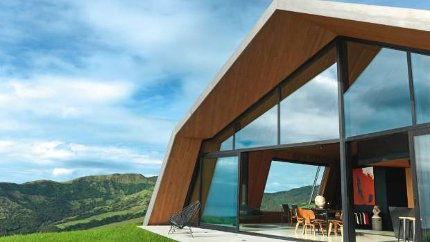 When Scott Lawrie was planning his Pakiri home, north of Auckland, he was initially nervous about having a wall made ...