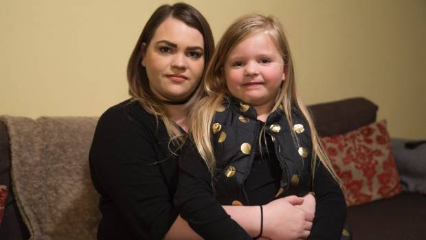 Chelsea Bardell is having trouble keeping up with her daughter Mila Bardell, 5, who is teaching her American sign ...