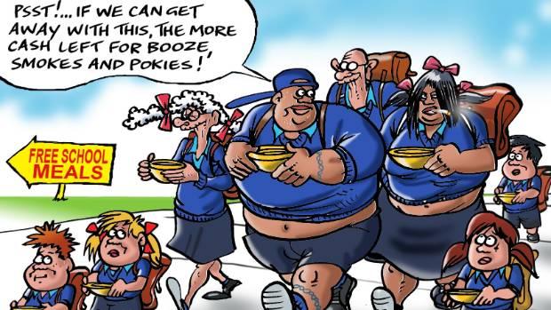 The cartoon that ran in The Marlborough Express.