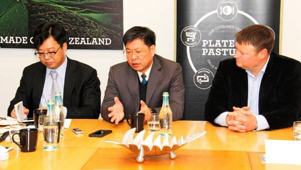 Shanghai Maling purchased half of Silver Fern Farms in 2016.