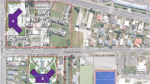 Site B on Pakington St, Westport, was selected for the new Buller Integrated Family Health Centre site.