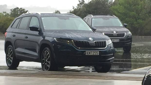 The Skoda Kodiaq - opposition brands may feel relieved that the New Zealand importer is restricted to 380 units this year.
