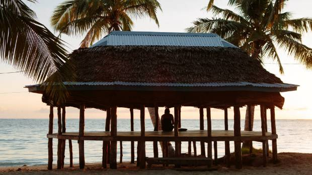 We spent every night in fales like this in Samoa. The nights are so hot that you can sleep with only a mosquito net ...