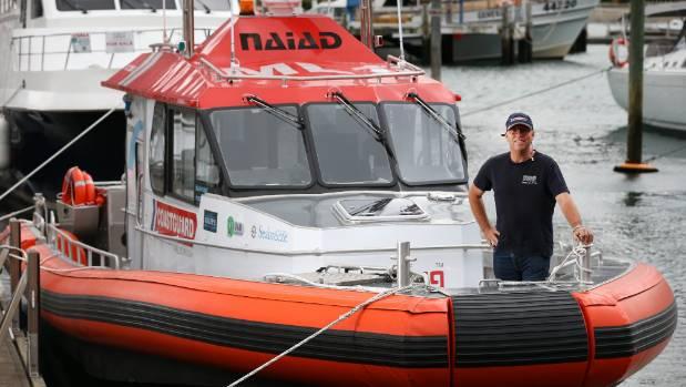Coastguard Marlborough's new boat can reach 50 knots, says David St John.