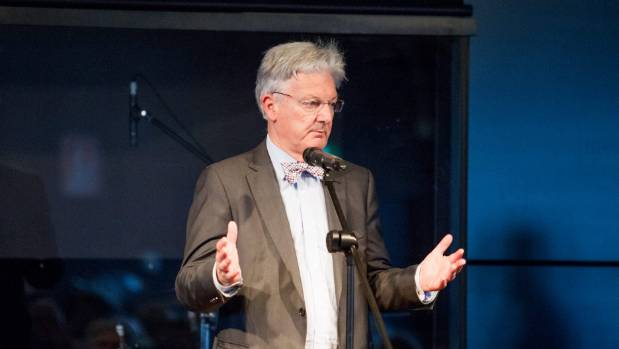 Peter Dunne spoke at National MP Tim Macindoe's monthly forum at Cafe Agora in Hamilton on Friday.