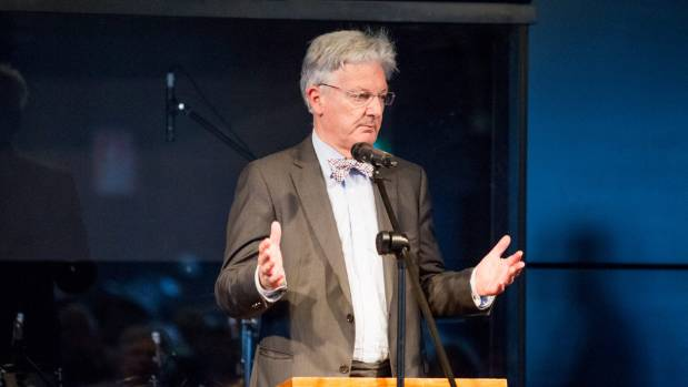 Peter Dunne made the announcement Friday morning.