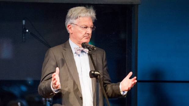 Peter Dunne said he sent the tweet out after he found a complaint had been made about the signs last week.