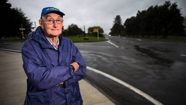Te Araroa Manawatu Trust chairman Frank Goldingham is an advocate for a cycleway from Feilding to Palmerston North.
