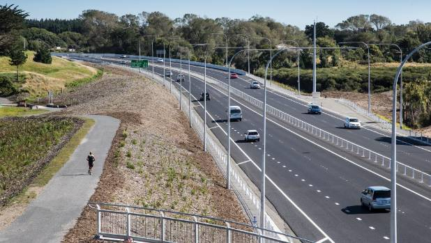 The four-lane, $630 million Kapiti expressway opened to traffic in late February.