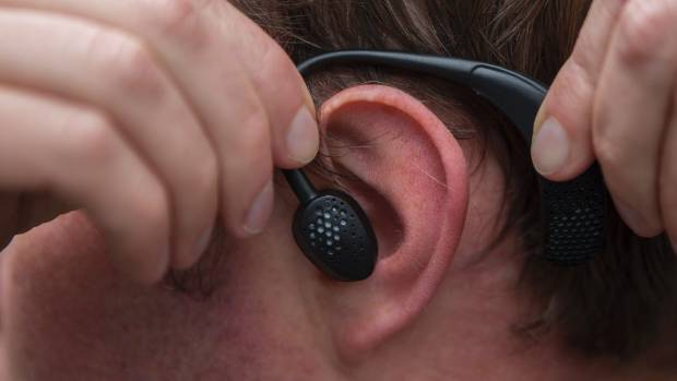 James Bell-Booth and John Grayson spent three years developing the magnetic earbud.