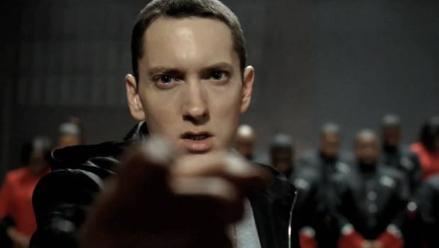 USA  rapper Eminem wins copyright case against NZ political party