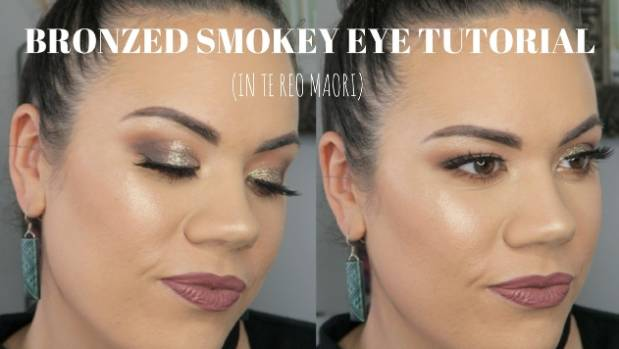 """I didn't think it was going to have that many views and that much attraction. Mixing te reo Maori with makeup is very, ..."