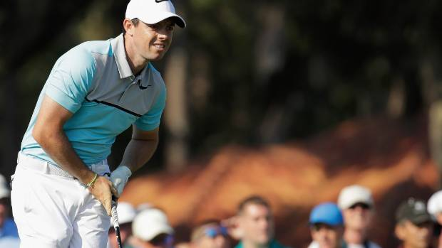 Sergio Garcia moves into contention at windy Sawgrass