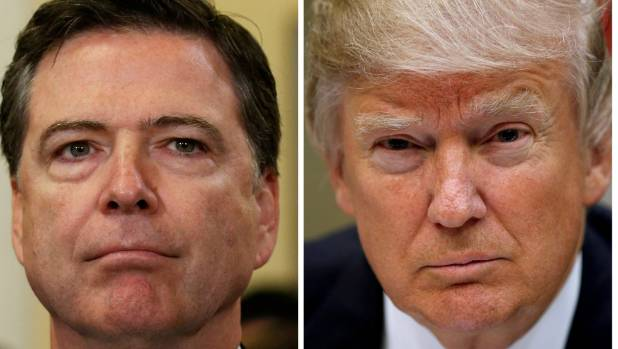 Trump faces fallout over Comey memo, Russian intelligence sharing