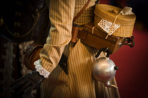 It's the details that really make the costumes come to life.