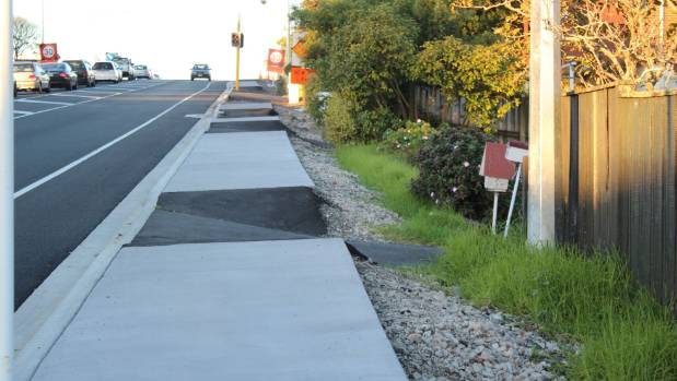 There were at least five asphalt patches on Edmonton Rd footpath.