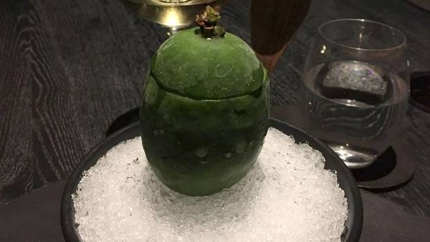 At Clooney restaurant in Auckland, chef Jacob Kear has deconstructed the humble feijoa and rebuilt it as a bowl of ...