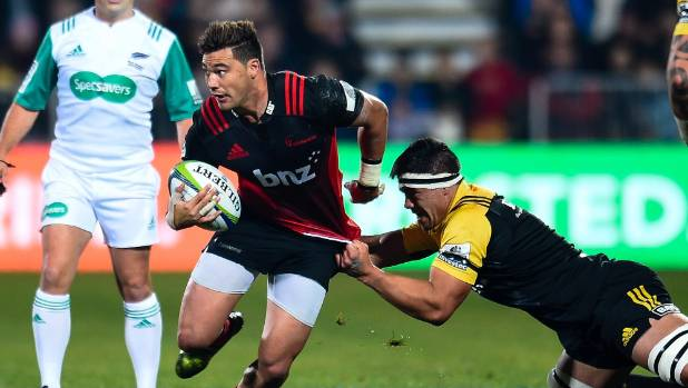 Crusaders fullback David Havili has been in fine form for the Super Rugby pacesetters.