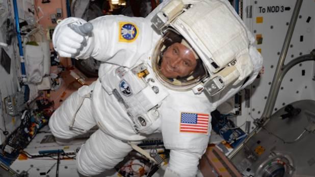 Rookie flier Jack Fischer overcame an equipment glitch to complete a stunner of a spacewalk.