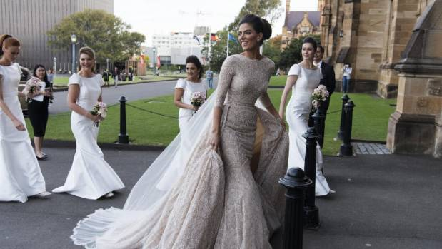 Nadi Hasandedic Found Her Wedding Gown On A Trip To New York Last Year