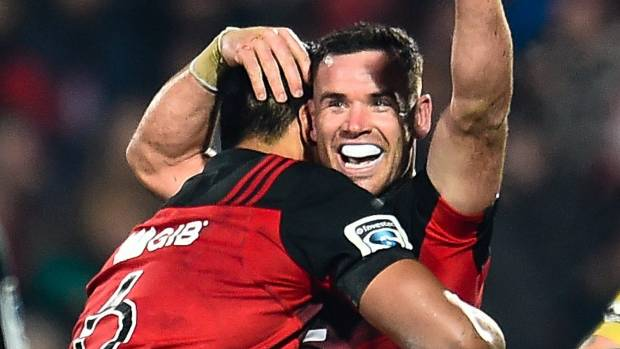 Ryan Crotty and the Crusaders produced the perfect display to shut down the Hurricanes.