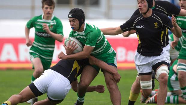 Michael Halatuituia, pictured here playing for the Manawatu under 16s, has been in top form for Palmerston North Boys' ...