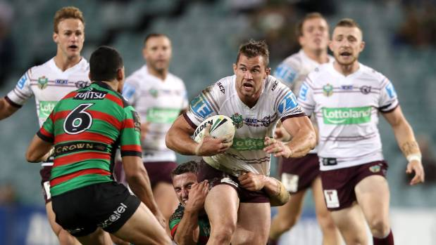 Brenton Lawrence of the Sea Eagles is a contender for the Queensland State of Origin squad.