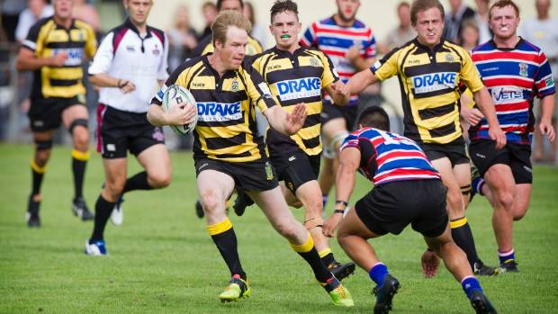 Brad Carr has been playing senior A rugby for Feilding since 1999.
