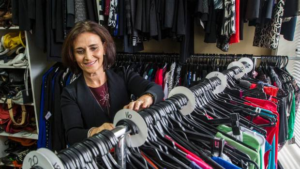 Dress For Success Christchurch volunteer Jo Prendergast puts in between five hours and two days each week and says it's ...
