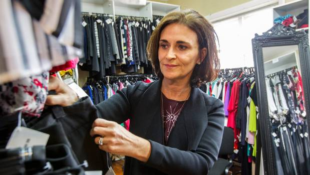 Jo Prendergast has been a volunteer stylist at Dress For Success Christchurch since 2009.