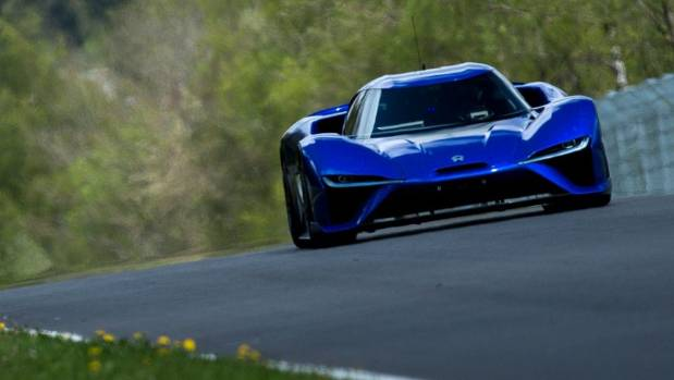 Nurburgring Lap Record >> Electric Nio EP9 supercar smashes Nurburgring lap record ...