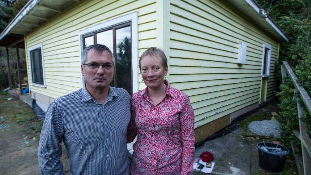 Home owners Sally Gaw and Scott Hardwick $1370 in fines if issues with the repair to their Lyttelton home are not ...