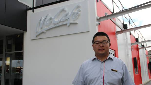 "Restaurant manager Song Zhao says the opening few days have been ""crazy"" for the team at his new McDonald's."