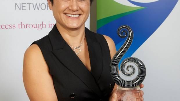 Fonterra Dairy Woman of the Year Jessie Chan-Dorman.
