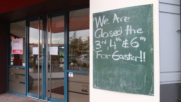 A Hutt City Council committee has recommended  Easter Sunday shop trading policy not be changed.