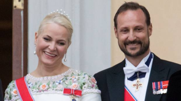 Crown Princess Mette Marit was a single mother and former waitress before marrying Crown Prince Haakon of Norway.